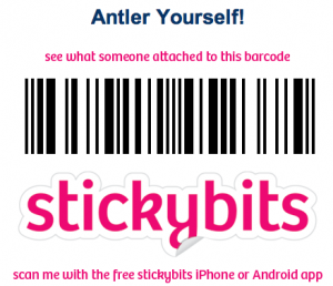 Antler Yourself Stickybit