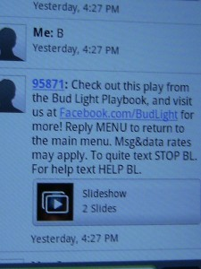 Bud Light Scan Code Text 4