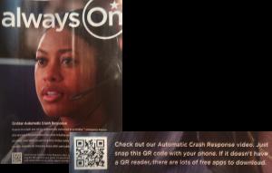 OnStar QR code