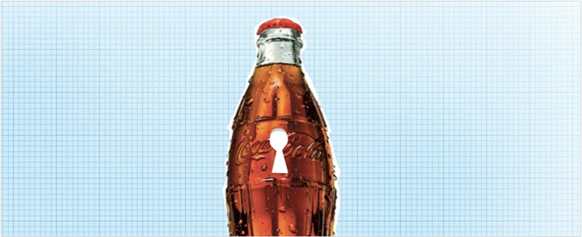 Coke Secret Formula Keyhole