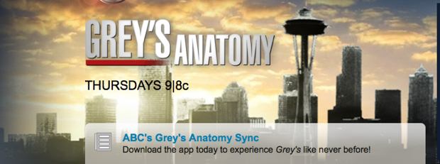 Greys Anatomy iPad App