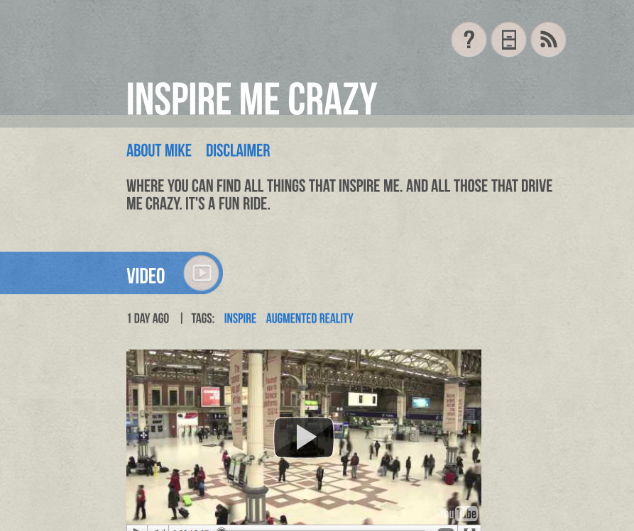 Inspire Me Crazy Tumblr Page
