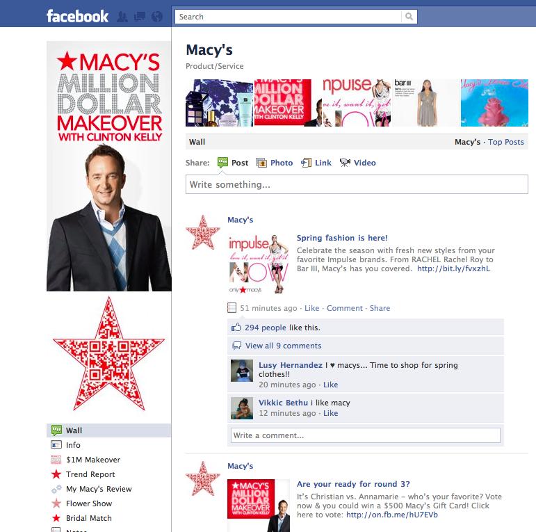 Macy's QR Code
