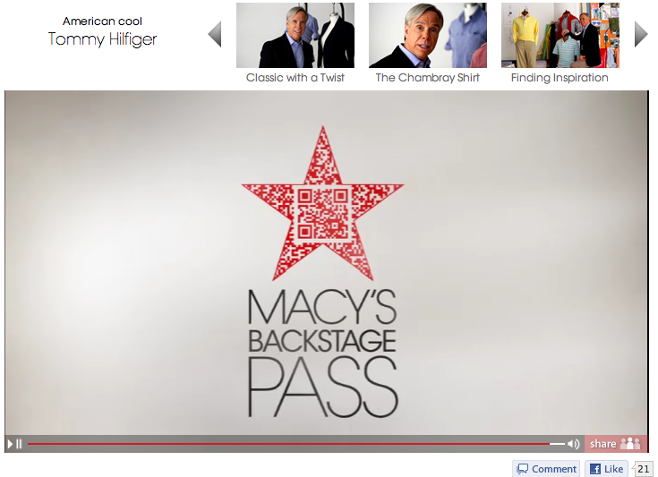 Macys Backstage Pass