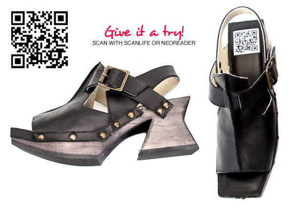 Fluevog QR Code Shoe