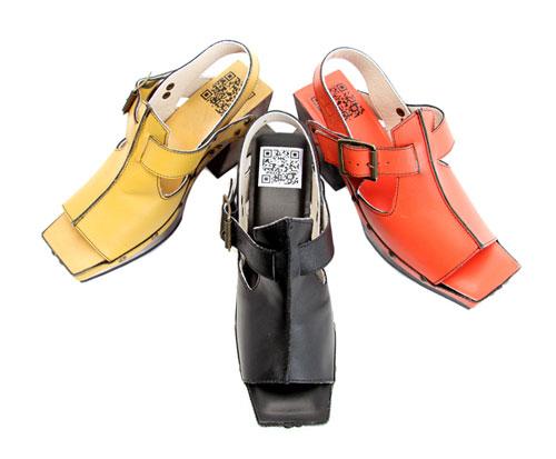 John Fluevog QR Code Shoe