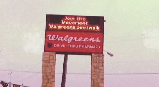 Walgreens Digital Sign