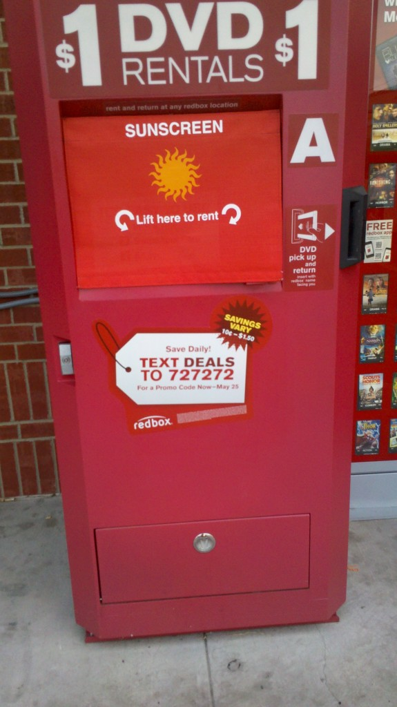 Redbox Touchscreen Interactive Out-of-Home Kiosk