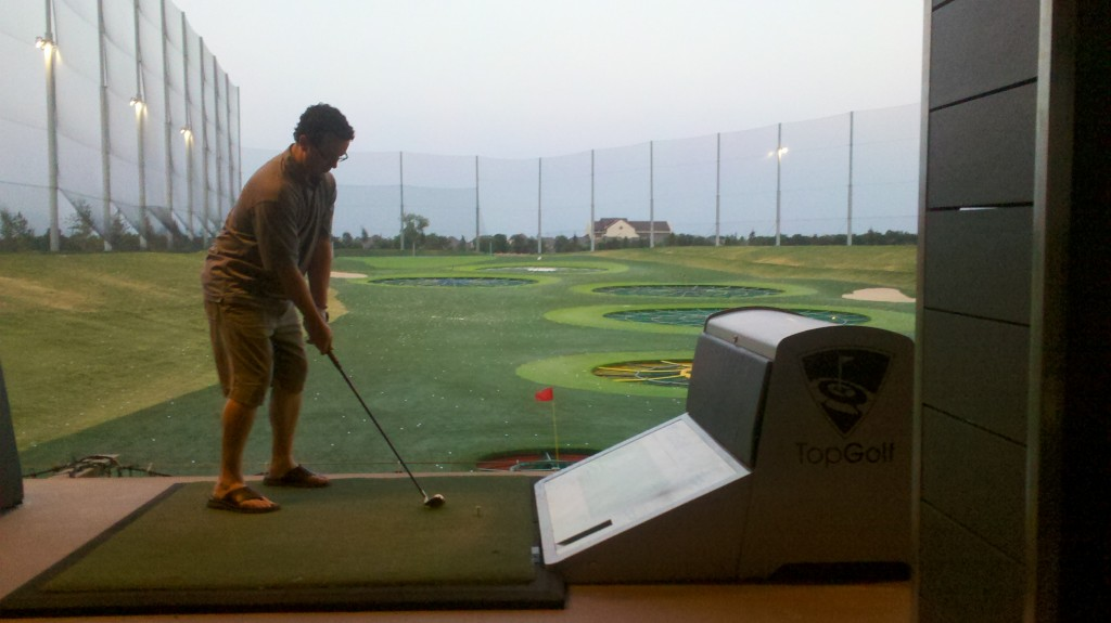 Top Golf targets