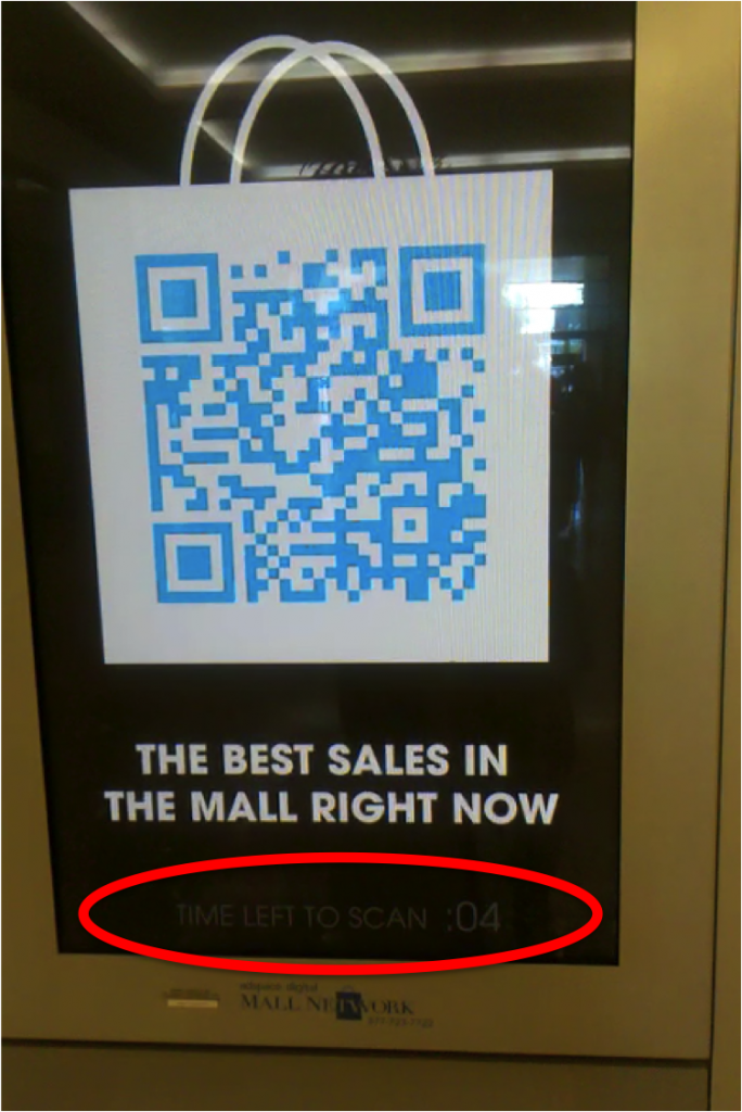 Mall Network with QR Code