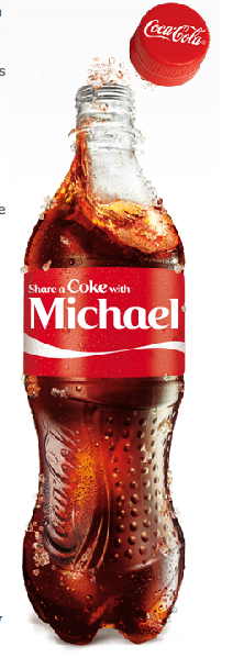 Michael's Personalized Coke