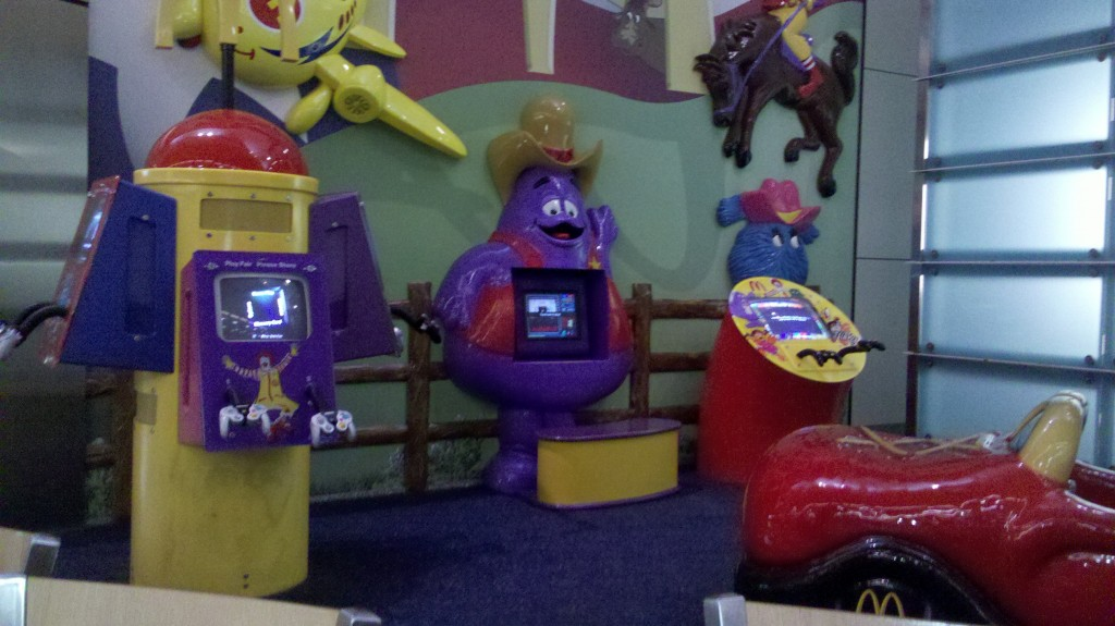 McDonalds digital playground