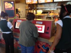 self-serve food kiosk